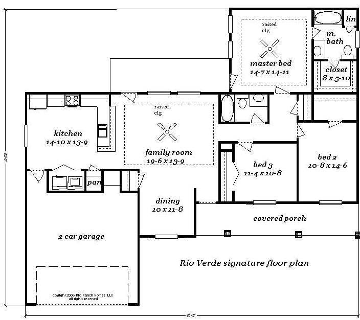 28 verde ranch floor plan 2780 palo verde floorplan for Palo verde homes floor plans